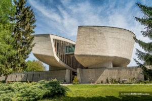 Architektura antyfaszystowska <br> Pomnik Słowackiego Powstania Narodowego | Bańska Bystrzyca