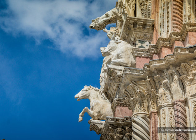 Jak przegrać z Florencją. </br>Katedra w Sienie   Włochy