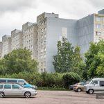 Radzieckie osiedle modelowe. <br>Väike-Õismäe, Tallin, Estonia
